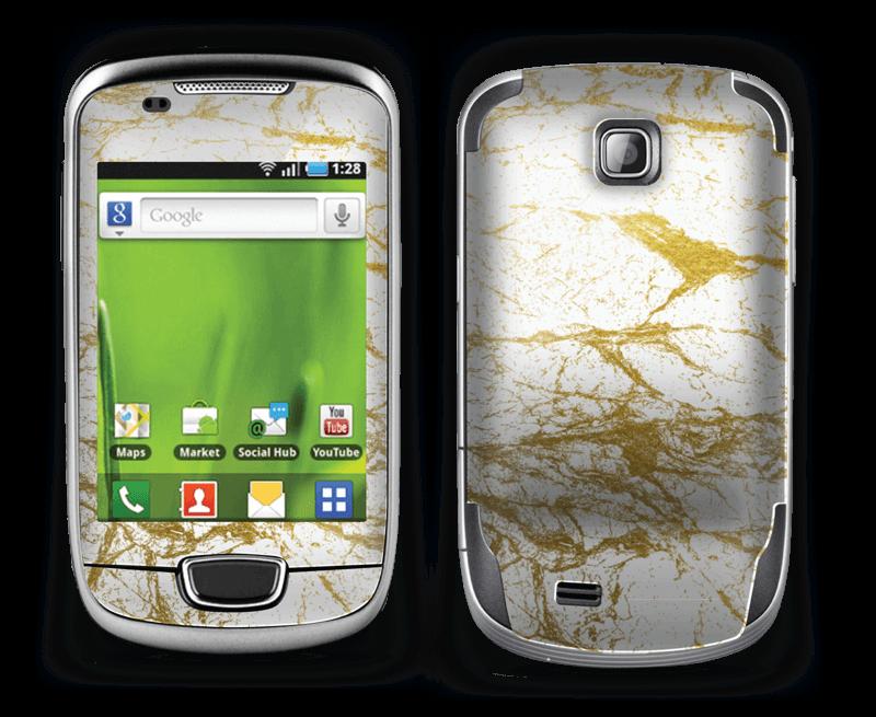 Hvitt og gull Skin Galaxy Mini