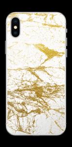 Hvitt og gull Skin IPhone X