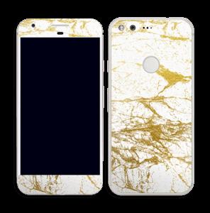 Hvitt og gull Skin Pixel