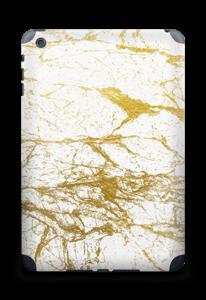 Hvitt og gull Skin IPad mini 2 back