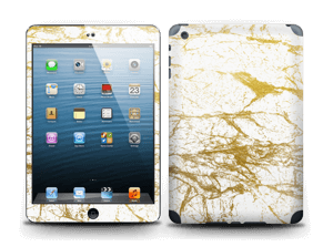 Hvitt og gull Skin IPad mini 2