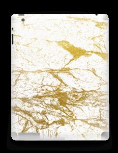 Hvitt og gull Skin IPad 4/3/2