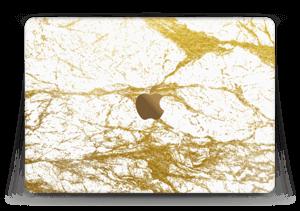 Hvitt og gull Skin MacBook 12