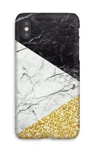 Oro e marmo cover IPhone X