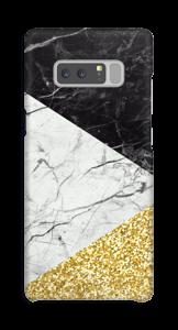 Zwart, Wit, Goud hoesje Galaxy Note8