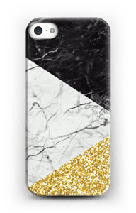 Oro e marmo cover IPhone 5/5S