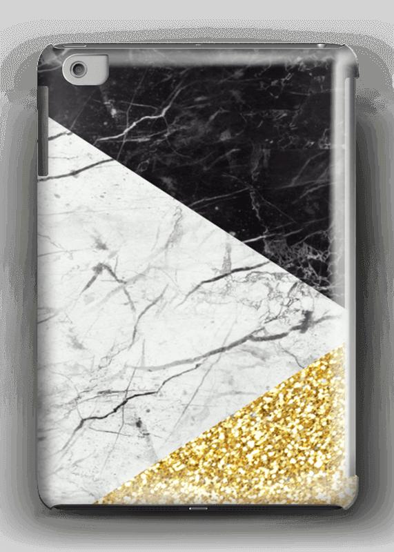 Sort Hvid Guld cover IPad mini 2