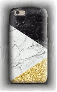 Svart Hvitt Gull deksel IPhone 6s tough