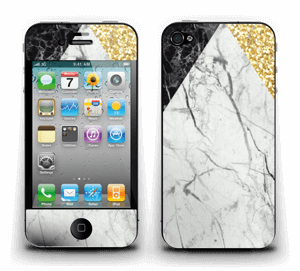 Gold and marble