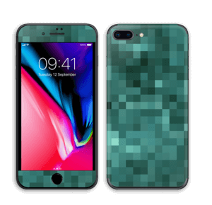 Grønn pixel Skin IPhone 8 Plus