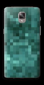 Grønn pixel Skin OnePlus 3T