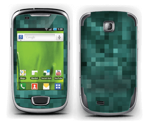 Green pixles Skin Galaxy Mini