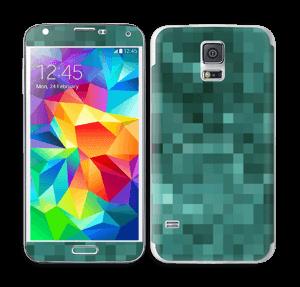 Grønn pixel Skin Galaxy S5
