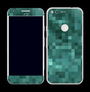 Pixelisé vert Skin Pixel