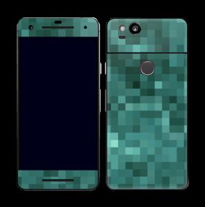 Grønn pixel Skin Pixel 2