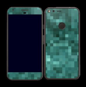 Pixelisé vert Skin Pixel XL