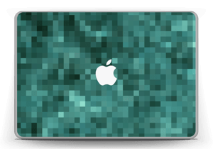 """Grønn pixel Skin MacBook Pro 13"""" -2015"""