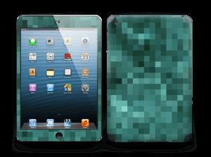 Grønn pixel Skin IPad mini 2
