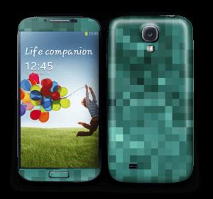Green pixles Skin Galaxy S4