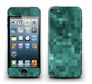 Grønn pixel Skin IPod Touch 5th Gen