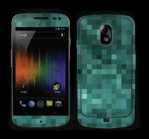 Grønn pixel Skin Nexus