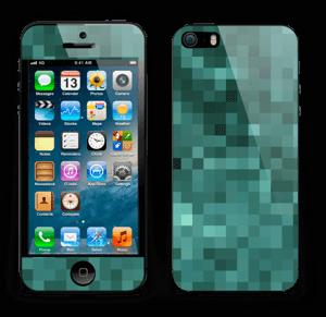 Grønn pixel Skin IPhone 5s