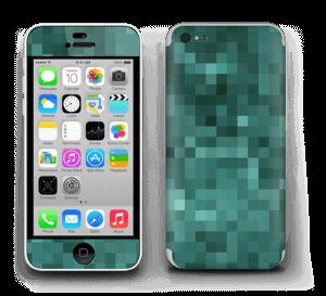Grønn pixel Skin IPhone 5c