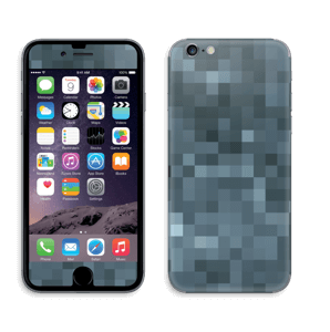 Gråblå pixel Skin IPhone 6/6s