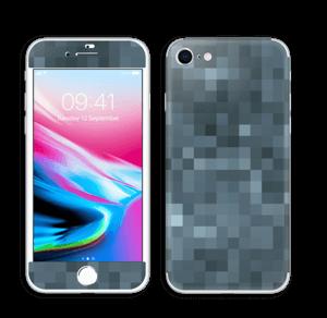 Pixels cinzentos Skin IPhone 8