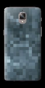 Gråblå pixel Skin OnePlus 3T