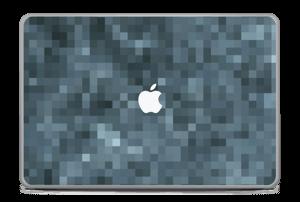 "Gråblå pixel Skin MacBook Pro 17"" -2015"