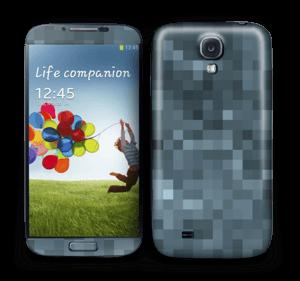 Pixelisé bleu Skin Galaxy S4