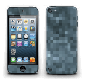 Gråblå pixel Skin IPod Touch 5th Gen
