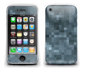 Gråblå pixel Skin IPhone 3G/3GS