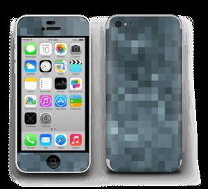 Gråblå pixel Skin IPhone 5c