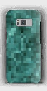 Pixels verdes Capa Galaxy S8