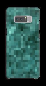 Pixels verdes Capa Galaxy Note8
