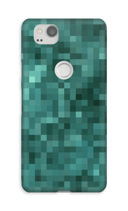 Pixels verdes Capa Pixel 2