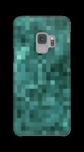 Pixelisé vert Coque  Galaxy S9