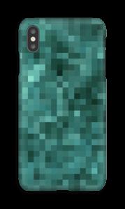 Pixels verdes Capa IPhone XS Max