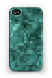 Pixels verdes Capa IPhone 4/4s