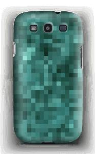Pixels verdes Capa Galaxy S3