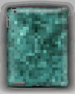 Vihreä pikseli kuoret IPad 4/3/2