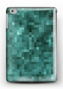 Grøn pixelization  cover IPad mini 2