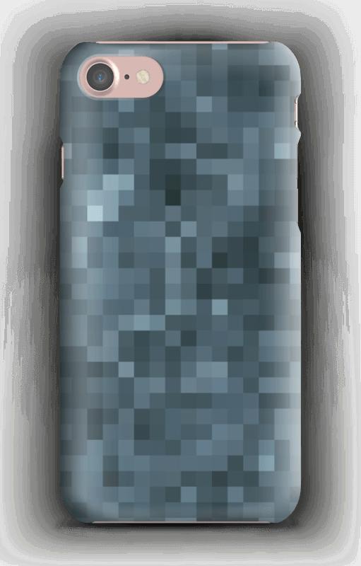 Pixels Cinzentos Capa IPhone 7