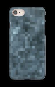 Pixels Cinzentos Capa IPhone 8