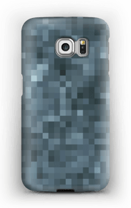 Pixels Cinzentos Capa Galaxy S6 Edge
