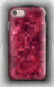 Pixels rosa Capa IPhone 7 tough