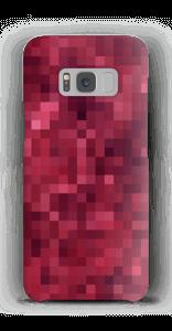 Pixels rosa Capa Galaxy S8