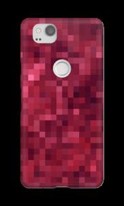 Pixels rosa Capa Pixel 2